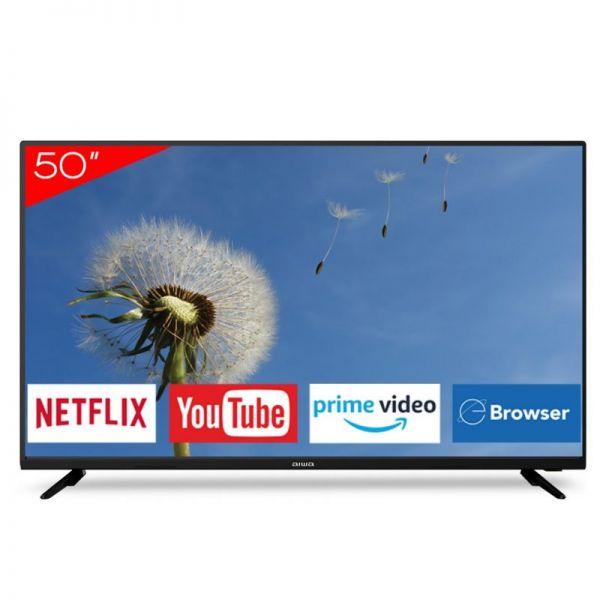 "TV LED Aiwa 50"" 4K UHD Smart AW-50B4K"